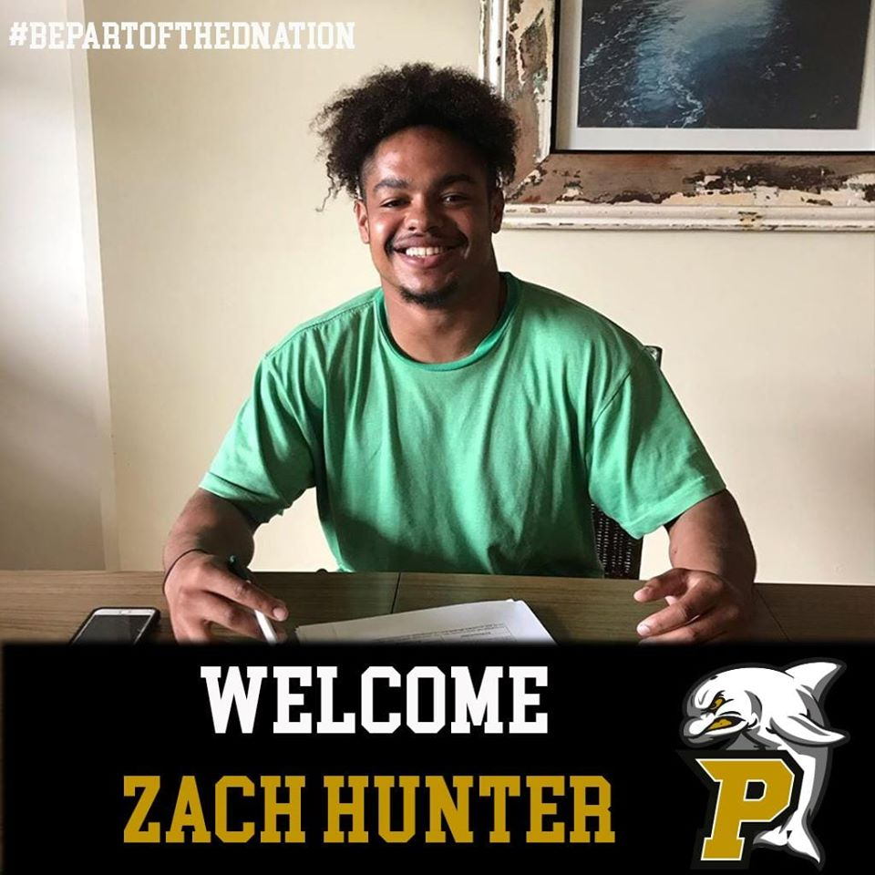Neuer Linebacker: Zach Hunter